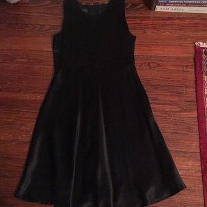 Donna Ricco little black dress size S P